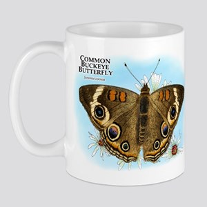Common Buckeye Butterfly Mug