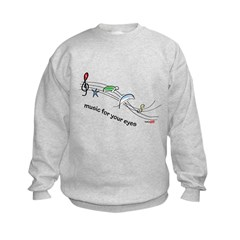 Music for your eyes Sweatshirt