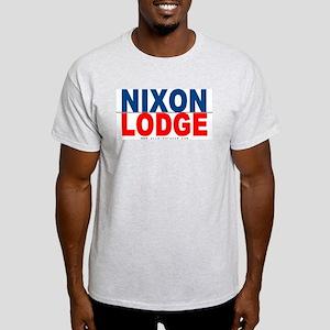 Nixon Lodge Ash Grey T-Shirt