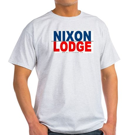 Nixon Lodge Ash Grey T-Shirt