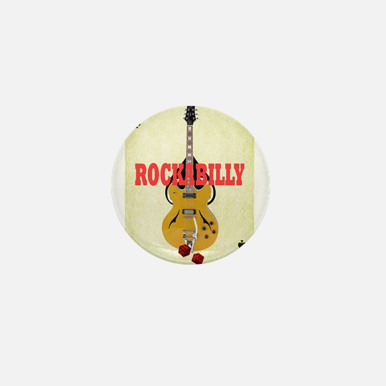 Rock-A-Billy Mini Button