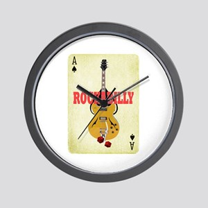 Rock-A-Billy Wall Clock