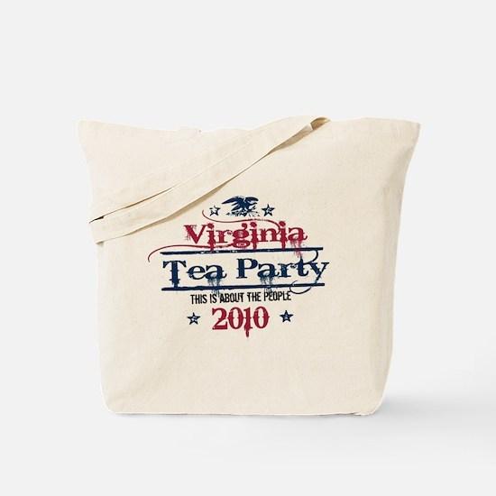 virginia tea party Tote Bag