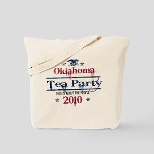 oklahoma tea party Tote Bag