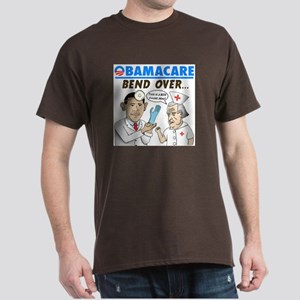 Obamacare: Bend Over! Dark T-Shirt