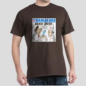 Obamacare: Bend Over! Dark T-Shirt