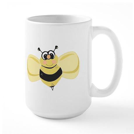 Cheery Bee Rosey Cheeks Large Mug