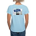 Women's Blue Autism Hope T-shirt