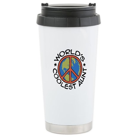 World's Coolest Aunt Stainless Steel Travel Mug