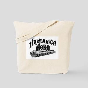Harmonica Hero Tote Bag
