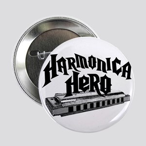 "Harmonica Hero 2.25"" Button"