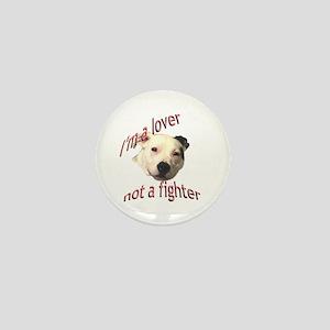Moo the Pitboo Spreads Dog Fi Mini Button
