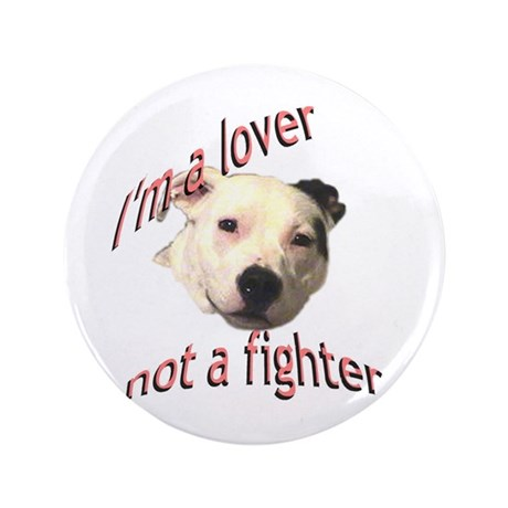 """Moo the Pitboo Spreads Dog Fi 3.5"""" Button (10"""