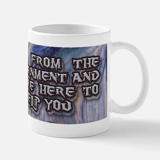 The Scream - I'm from the Gov Mug