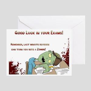 Good luck exam greeting cards cafepress greeting card m4hsunfo
