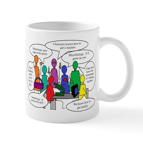 Laboratory Team Humor Mug