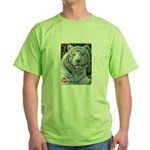 Majesty the Tiger Green T-Shirt