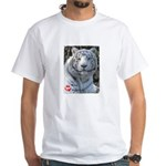 Majesty the Tiger White T-Shirt