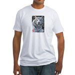 Majesty the Tiger Fitted T-Shirt