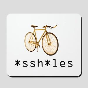 *ssh*les Fixie Orange Mousepad