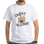 Sweet Blooded White T-Shirt