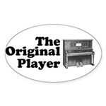 The Original Player Sticker (Oval 10 pk)