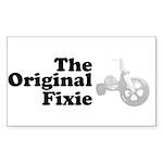 The Original Fixie Sticker (Rectangle 50 pk)