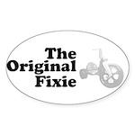 The Original Fixie Sticker (Oval 10 pk)
