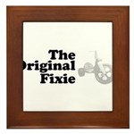 The Original Fixie Framed Tile