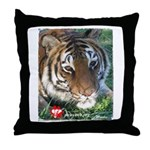 Mookie the Tiger Throw Pillow