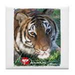 Mookie the Tiger Tile Coaster