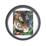 Mookie the Tiger Wall Clock