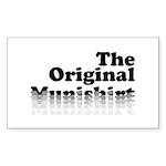 The Original Munishirt Sticker (Rectangle 50 pk)
