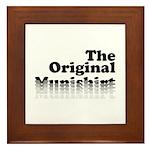 The Original Munishirt Framed Tile