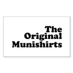 The Original Munishirts Sticker (Rectangle 50 pk)