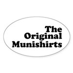 The Original Munishirts Sticker (Oval 50 pk)