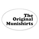 The Original Munishirts Sticker (Oval 10 pk)