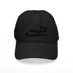 The Original Munishirts Black Cap