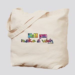 11:11 pm Make A Wish Tote Bag