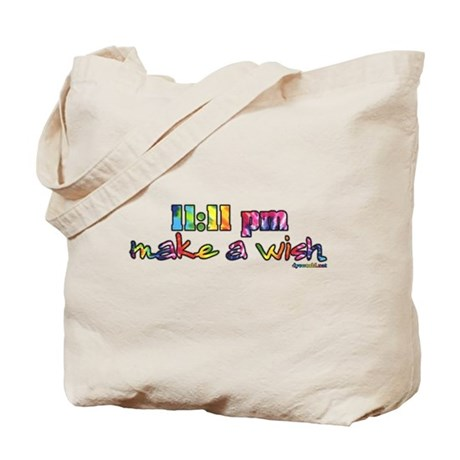 11:11 pm Make A Wish Tote Bag