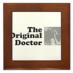 The Original Doctor Framed Tile