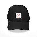 Vermont Ski Tours Logo Black Cap With Patch
