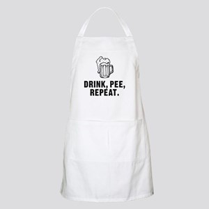 Drink Pee Repeat Apron