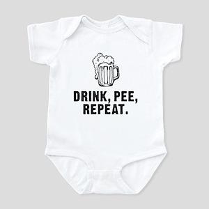 Drink Pee Repeat Infant Bodysuit