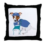 JRT Humor Doctor Dog Throw Pillow