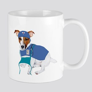 JRT Humor Doctor Dog Mug