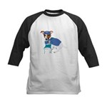 JRT Humor Doctor Dog Kids Baseball Jersey
