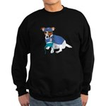 JRT Humor Doctor Dog Sweatshirt (dark)