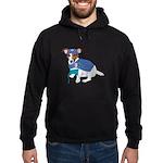 JRT Humor Doctor Dog Hoodie (dark)