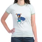 JRT Humor Doctor Dog Jr. Ringer T-Shirt